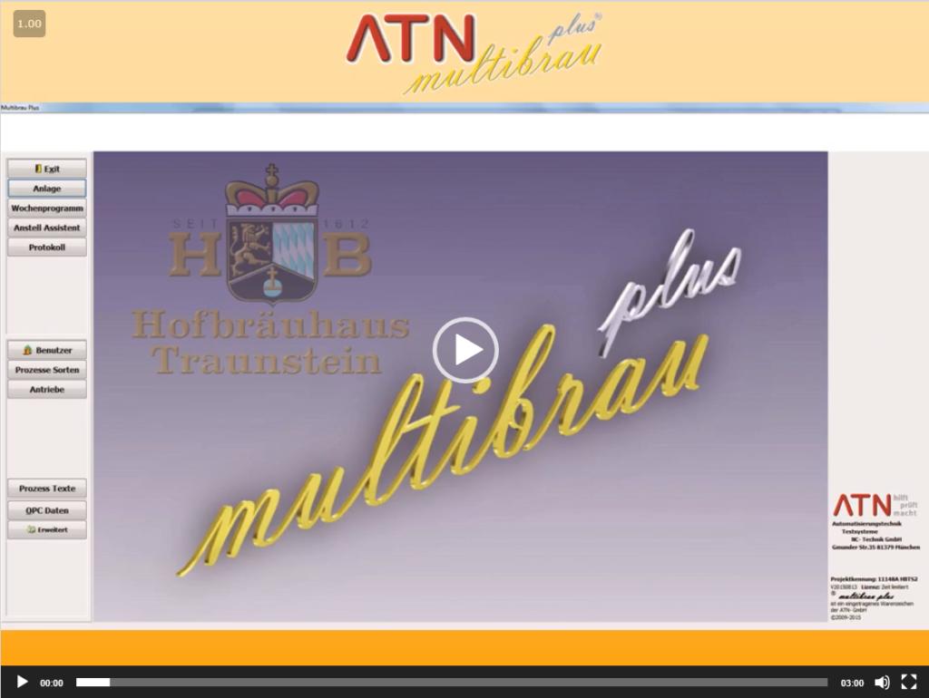 Link zum Video des Brauereisystems der Multibrau GmbH